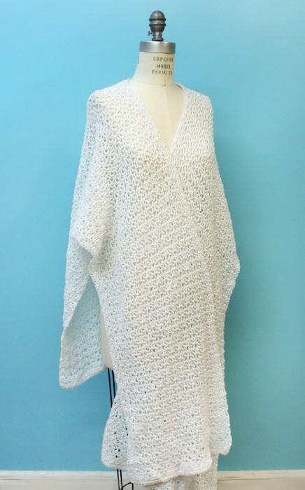Glamorous Spring Crochet Ruana Pattern  FaveCraftscom