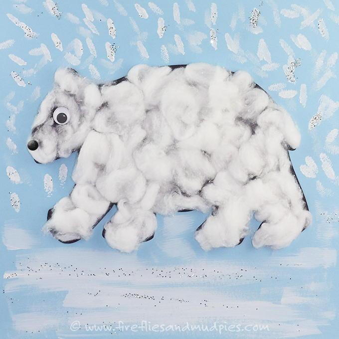 Printable Polar Bear Craft