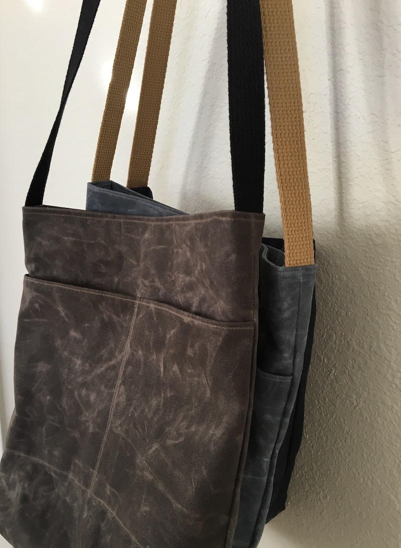 The Hedgerow Book Bag Pattern  AllFreeSewingcom