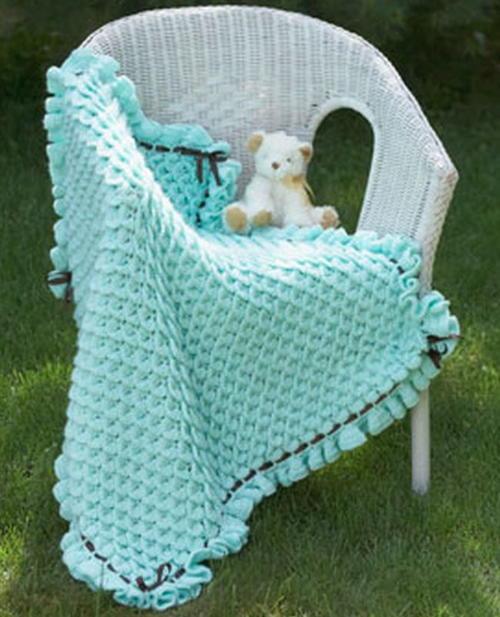 Princess Crocodile Stitch Baby Blanket