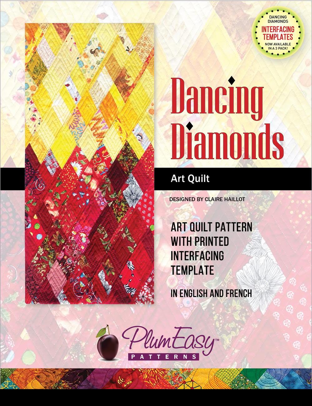 kitchen table placemats pegasus faucet parts dancing diamonds art quilt pattern review | favequilts.com