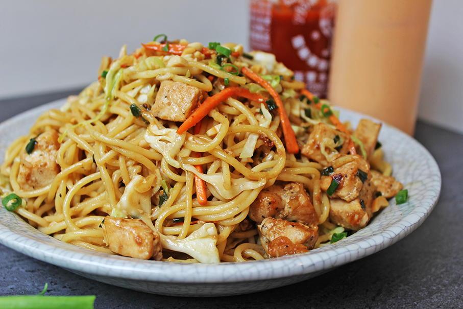 CPK Thai Peanut Chicken Pasta