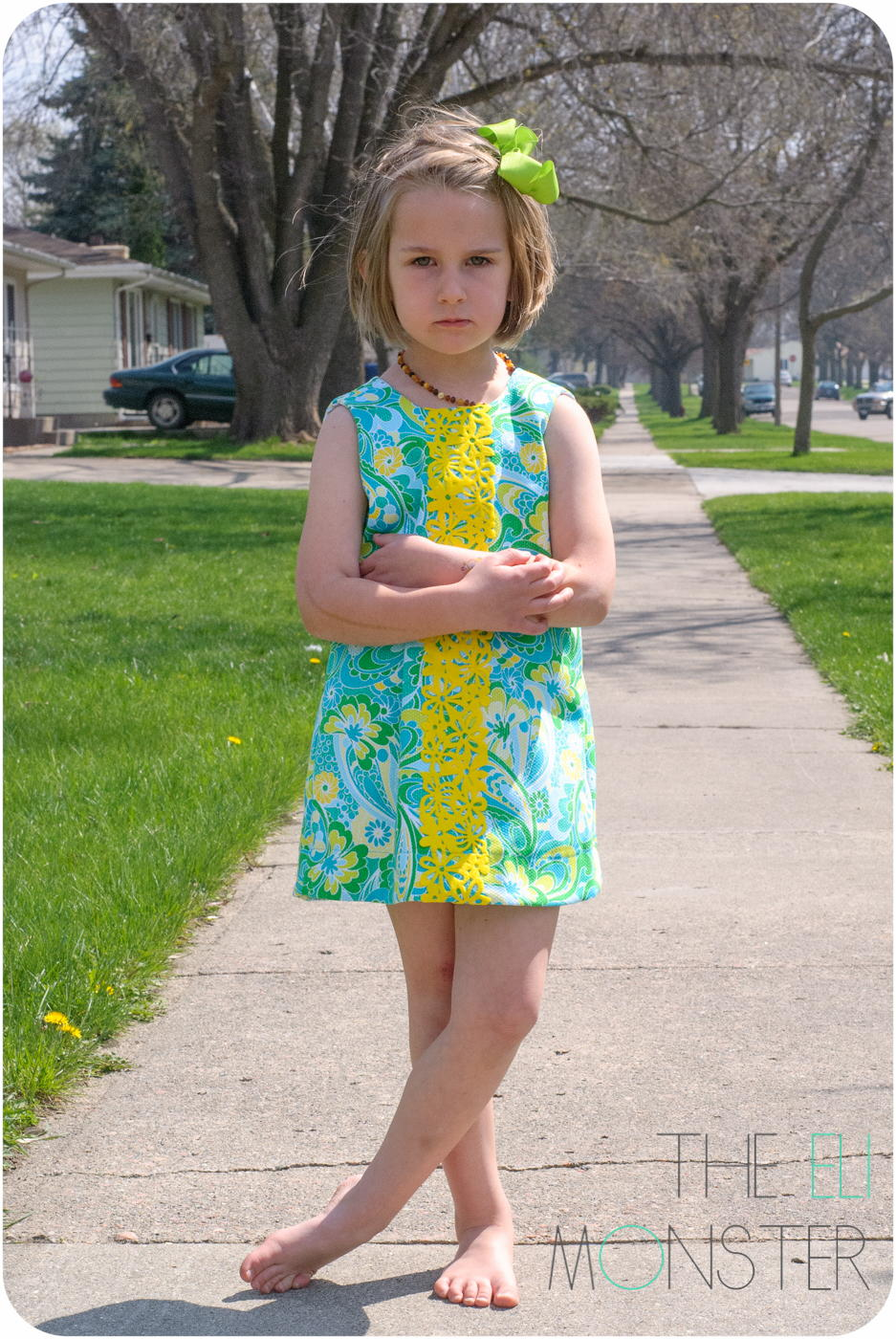 Tropisch Dress Pattern