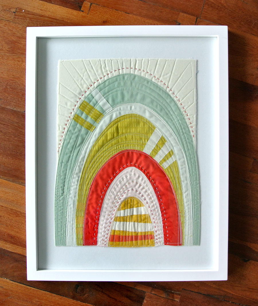 How to Frame a Mini Quilt  FaveQuiltscom