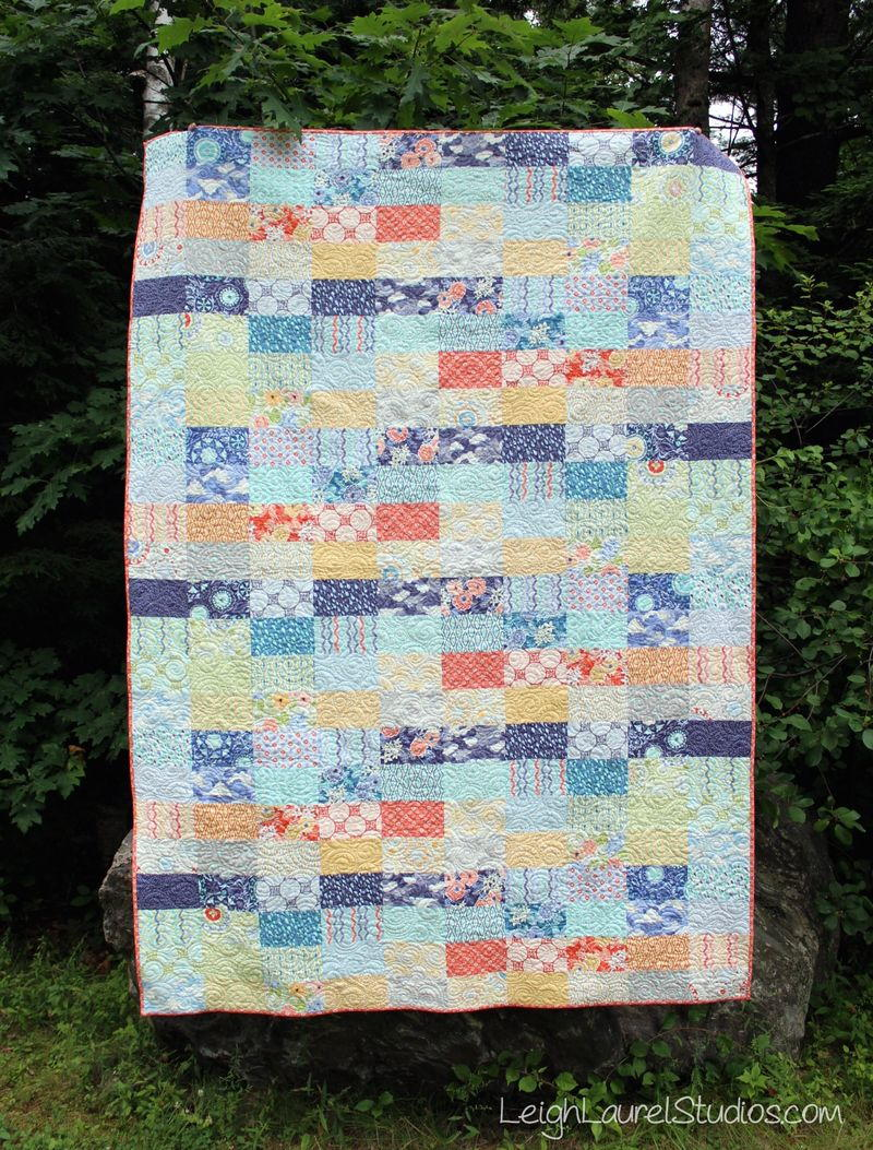 Ebb and Flow Quilt Pattern  FaveQuiltscom