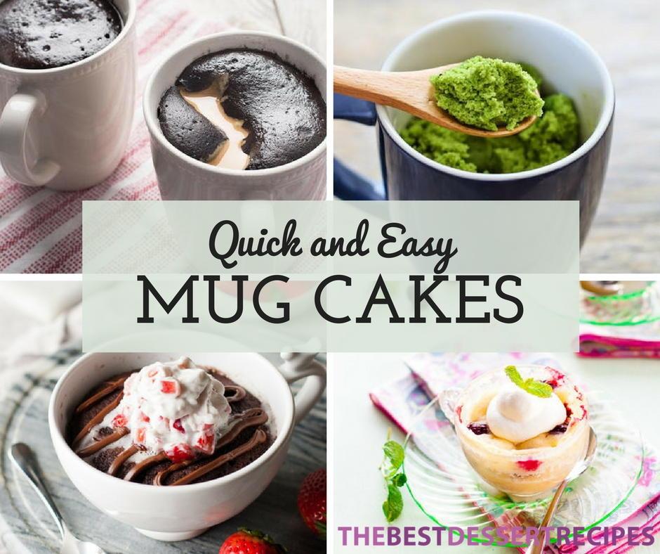 26 Quick and Easy Mug Cake Recipes  TheBestDessertRecipescom