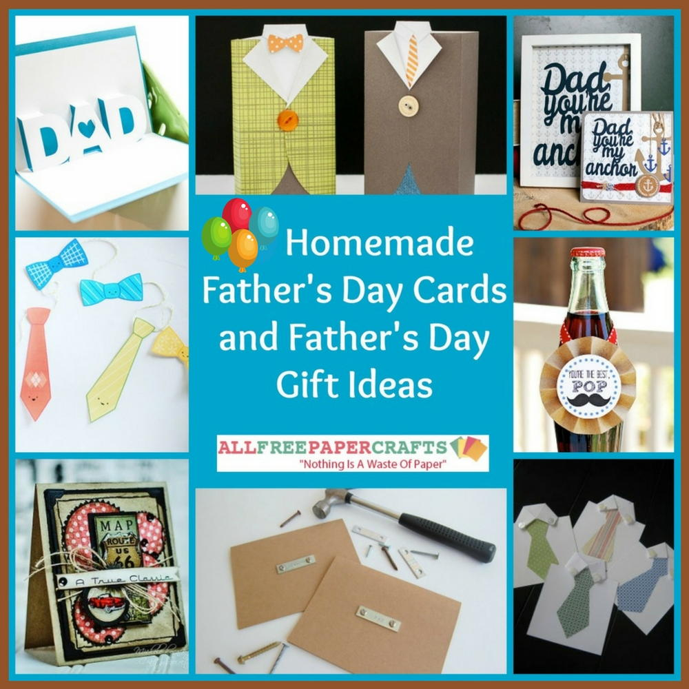 26 Homemade Father S Day Cards And Father S Day Gift Ideas
