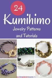 24 Kumihimo Jewelry Patterns and Tutorials ...