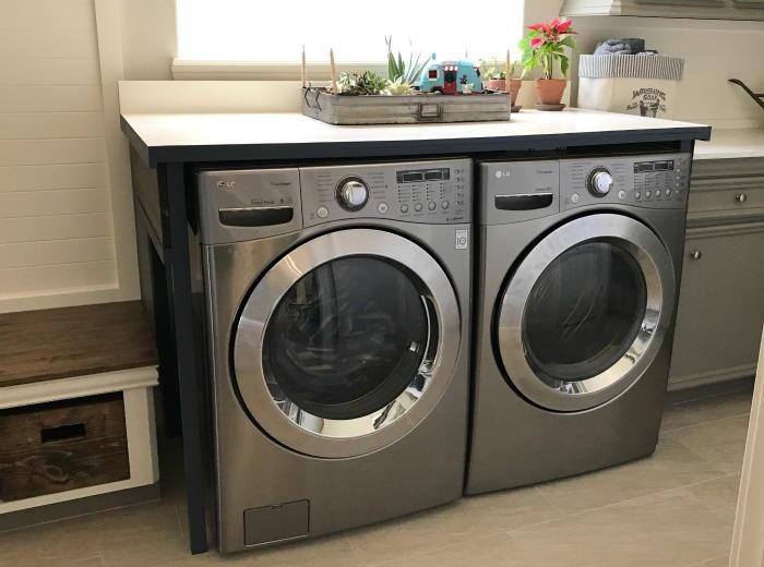 Lovable DIY Laundry Table  DIYIdeaCentercom