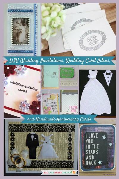 20 Diy Wedding Invitations Card Ideas And