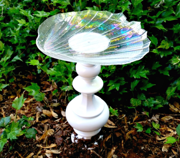 Lamp DIY Bird Bath  DIYIdeaCentercom