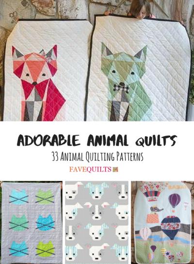 Animal Quilting Patterns : animal, quilting, patterns, Adorable, Animal, Quilts:, Quilting, Patterns, FaveQuilts.com