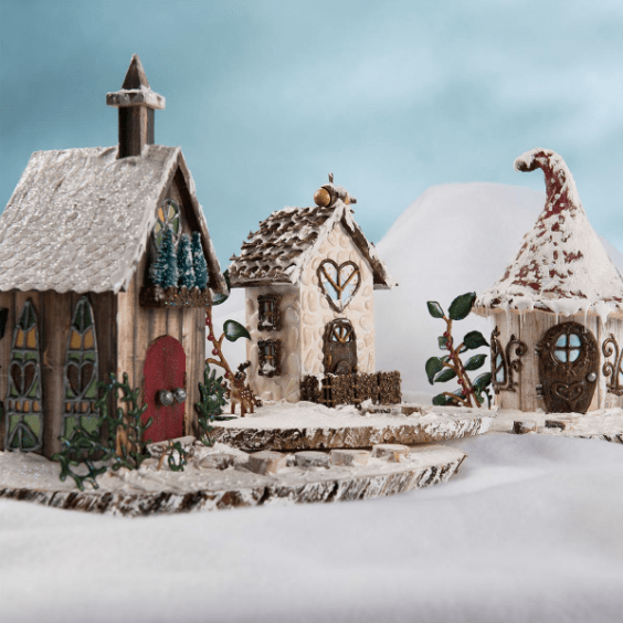 Fairy Garden DIY Snow Village  FaveCraftscom