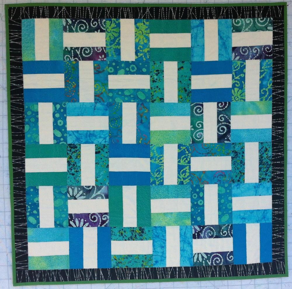 kitchen table placemats cosco stool seashore rails strip quilt | favequilts.com