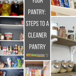 Decoration Ideas For Living Room Table Wall Decorating Rooms How To Organize Your Pantry: Steps A Cleaner Pantry ...