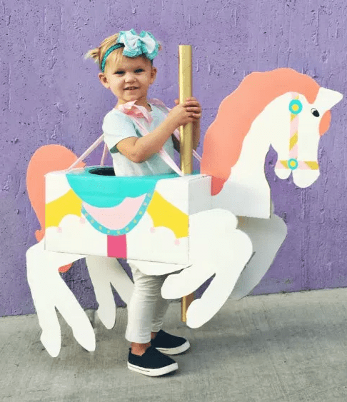 Carousel Horse Kids Costume