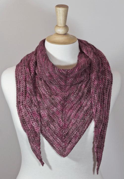 One Skein Knitting Patterns : skein, knitting, patterns, Skein,, Scarf, AllFreeKnitting.com