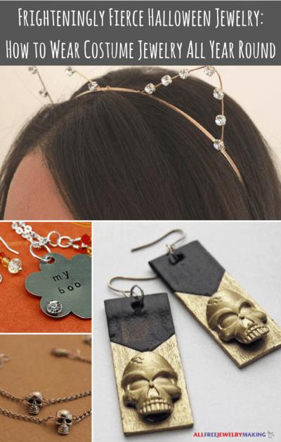 Halloween Jewelry : halloween, jewelry, Frighteningly, Fierce, Halloween, Jewelry:, Costume, Jewelry, Round, AllFreeJewelryMaking.com