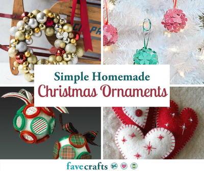 70 simple homemade christmas