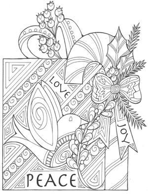 27 Christmas Coloring Pages Pdf Downloads Favecrafts Com