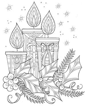 27 Christmas Coloring Pages Pdf Downloads Favecrafts Com