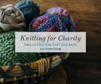 Knitting for Charity: 30 Hat Patterns   AllFreeKnitting.com