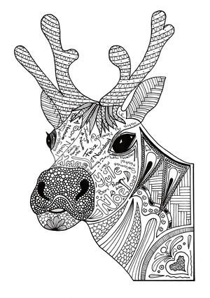 adult christmas coloring pages # 26