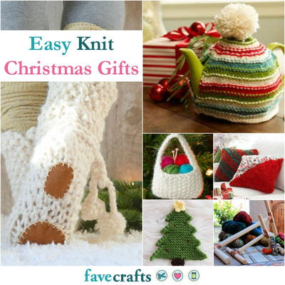 36 easy knit christmas