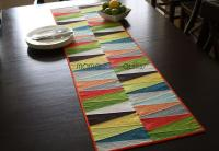 Modern Dresden Quilt Table Runner