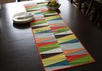 Modern Dresden Quilt Table Runner | FaveQuilts.com