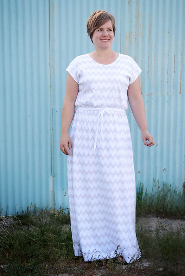 Trendy Mama Maxi Dress Pattern  AllFreeSewingcom