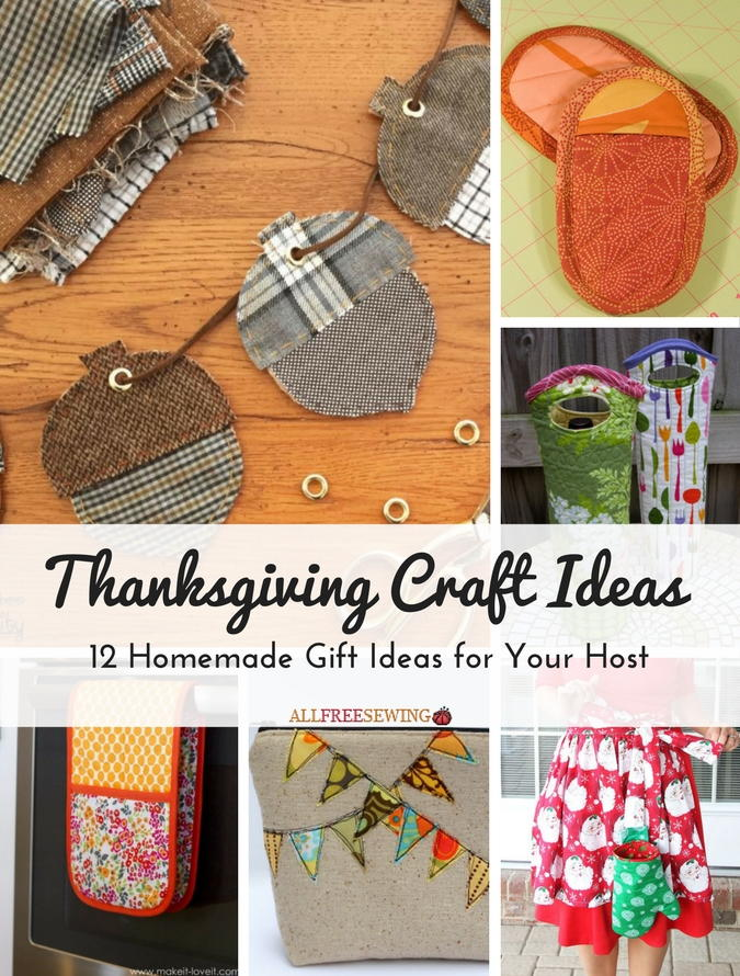 Thanksgiving Craft Ideas 12 Homemade Gift Ideas for Your