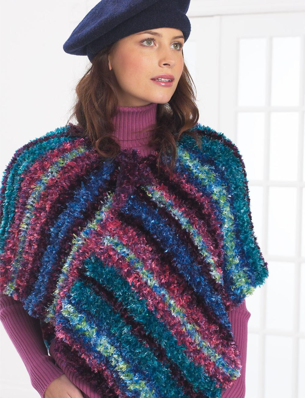 Free Crochet Pattern For Adult Poncho