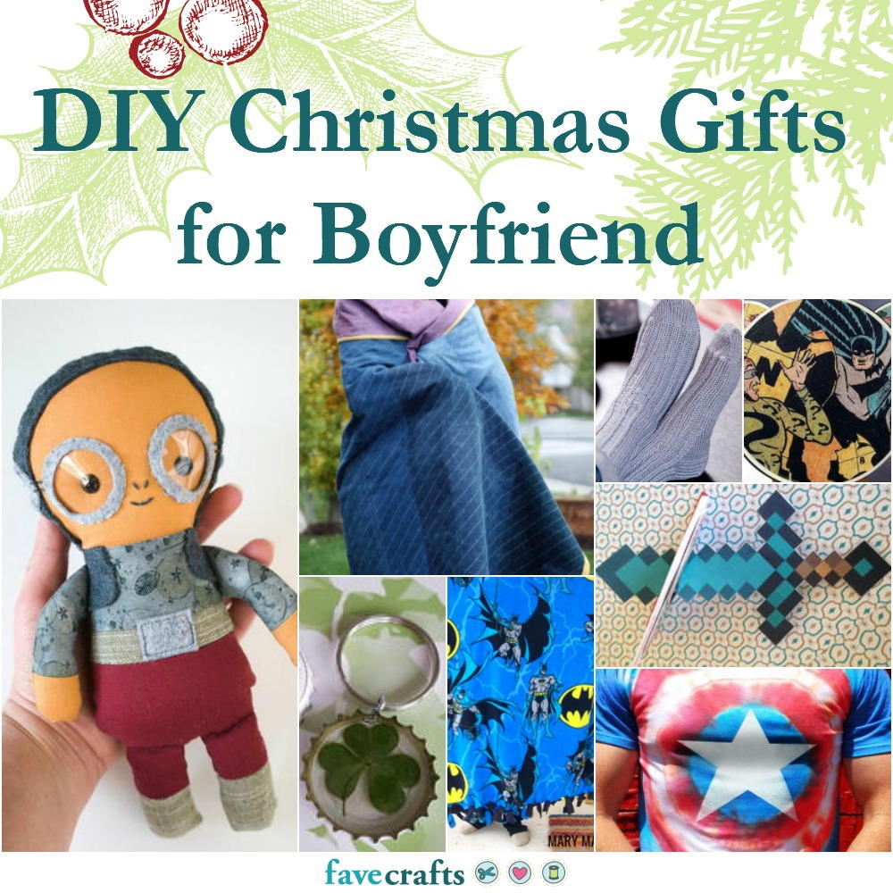 42 Diy Christmas Gifts For Boyfriend Favecrafts