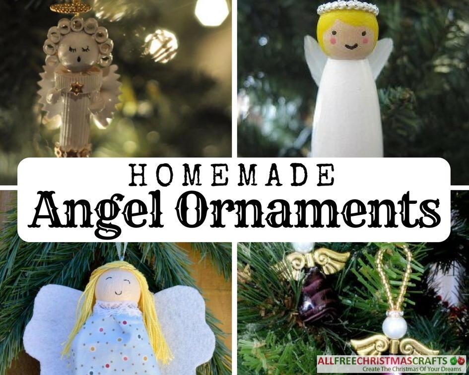 15 Homemade Angel Ornaments