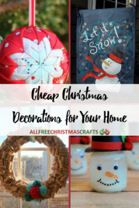 50 Cheap Homemade Christmas Crafts