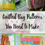 25 Quilted Bag Patterns You Need To Make Favequilts Com