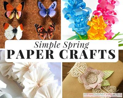 32 simple spring paper