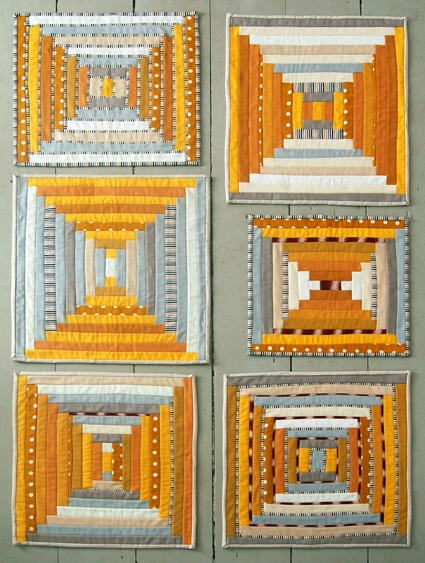 Courthouse Steps Quilt Pattern : courthouse, steps, quilt, pattern, Courthouse, Steps, Block, FaveQuilts.com