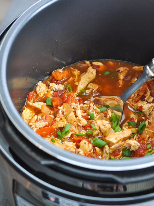 Mexican Instant Pot or Slow Cooker Chicken | RecipeLion.com