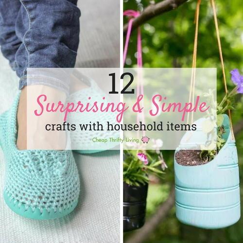 12 surprising simple crafts