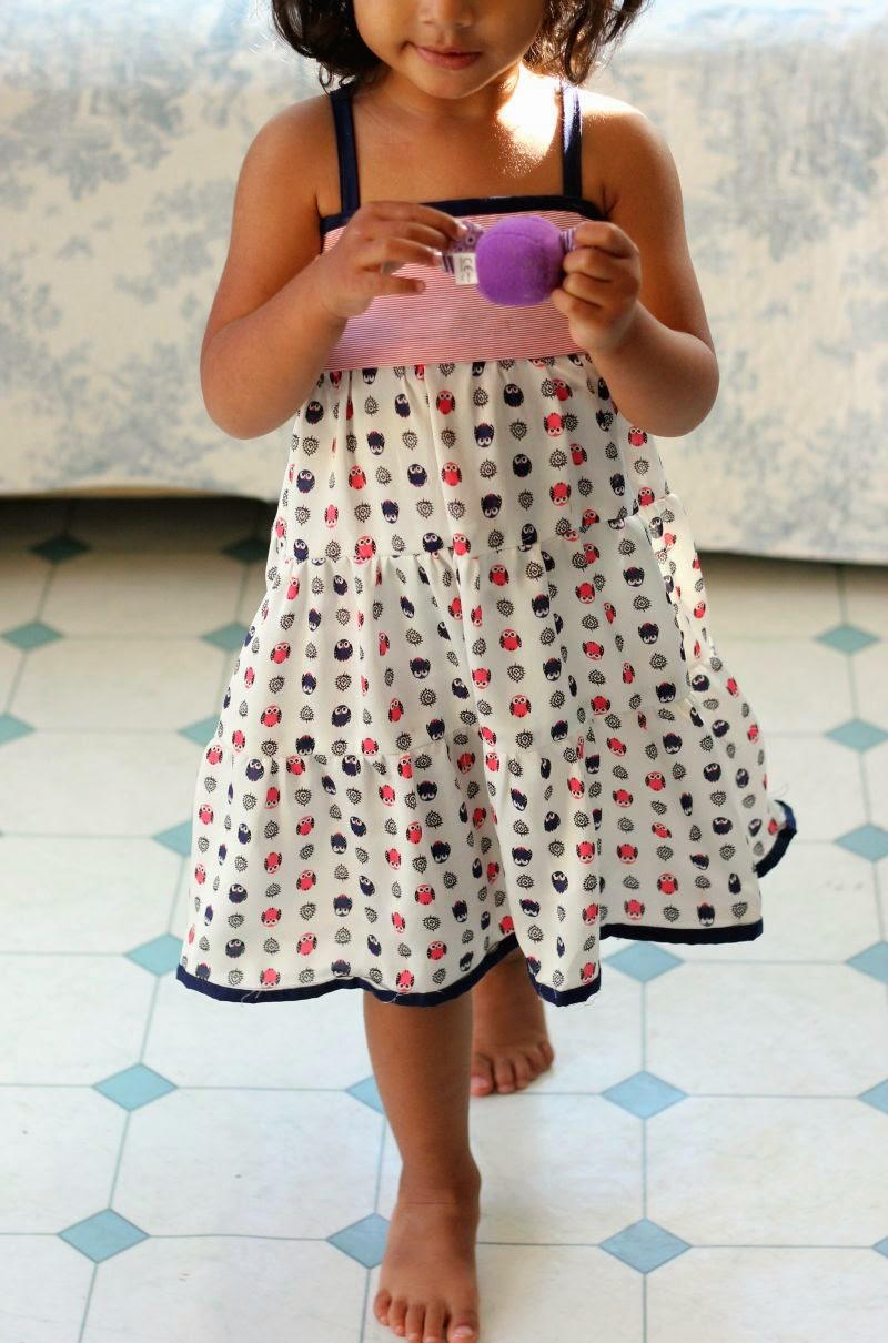 Tiered Girl' Dress Pattern