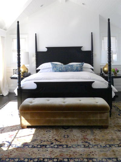 Modern Four Poster Bed Frame Tutorial Cheapthriftyliving Com