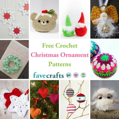 Free Christmas Decoration Crochet Patterns