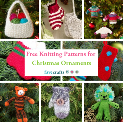 Free Christmas Decoration Knitting Patterns To Download
