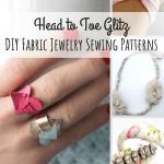 Head To Toe Glitz 20 Diy Fabric Jewelry Sewing Patterns Allfreesewing Com