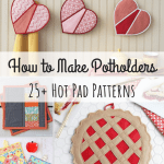 How To Make Potholders 25 Hot Pad Patterns Allfreesewing Com