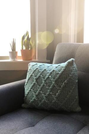 knit pillows allfreeknitting com