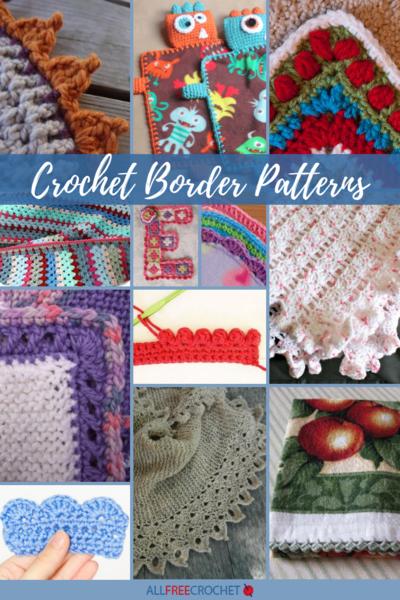 30 crochet border patterns