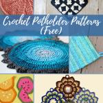 33 Crochet Potholder Patterns Free Allfreecrochet Com
